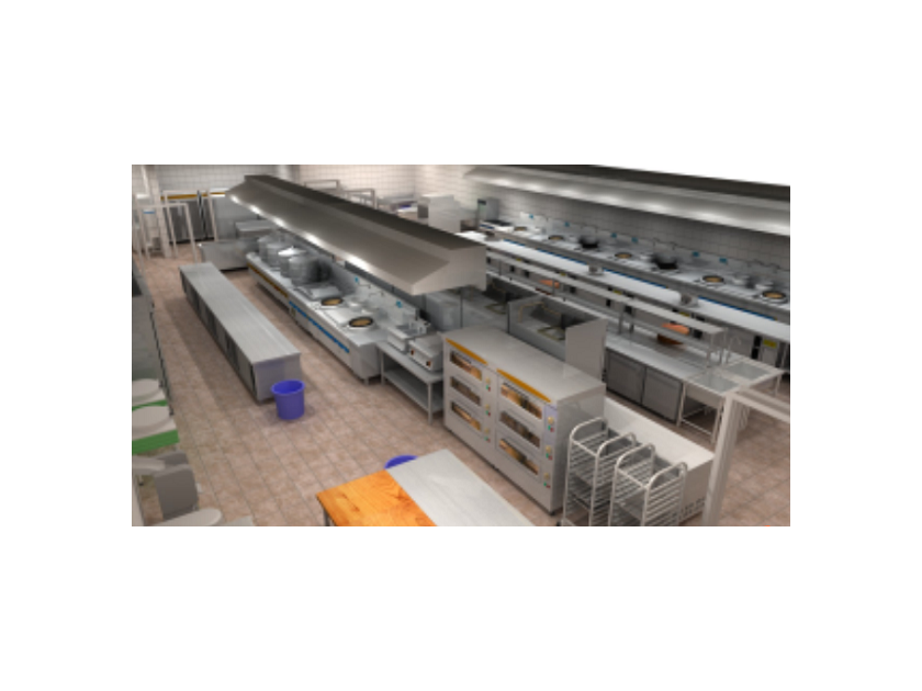 客户应用案例——厨具灶台架子