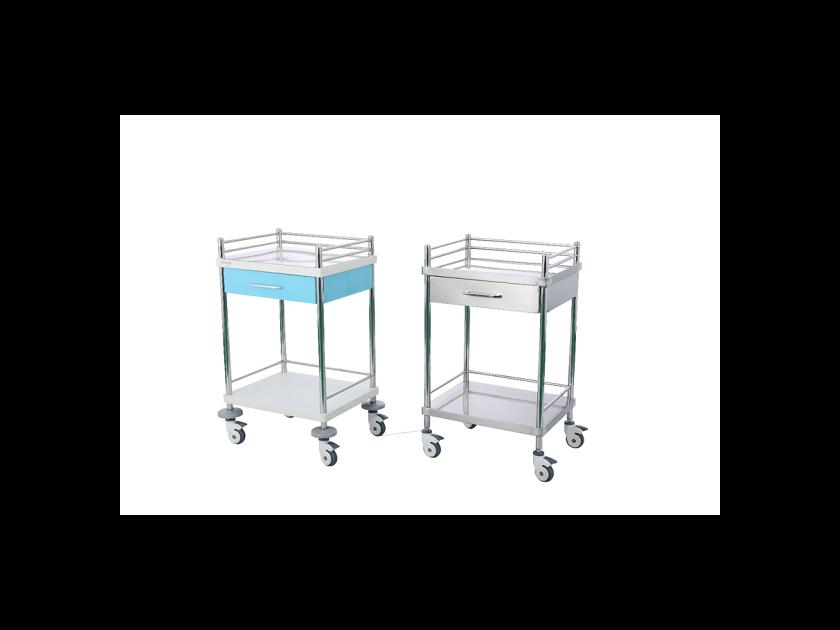 客户应用案例——医疗器械之护士不锈钢推车