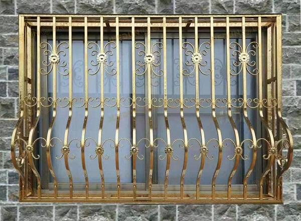 不锈钢焊管防盗窗