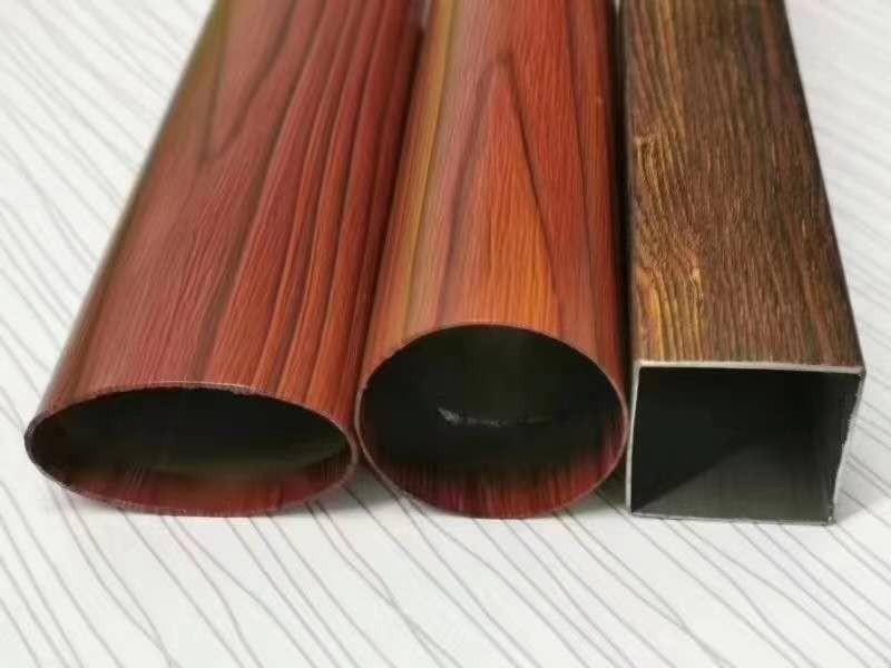 不锈钢304木纹管