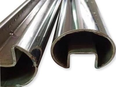 不锈钢单槽管