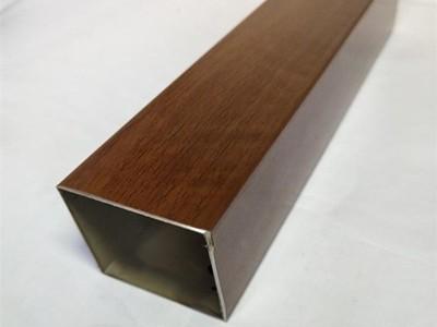 304不锈钢木纹方管