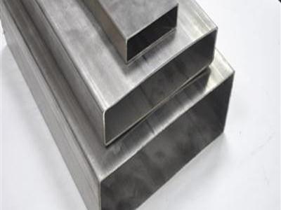 304不锈钢拉丝方矩管
