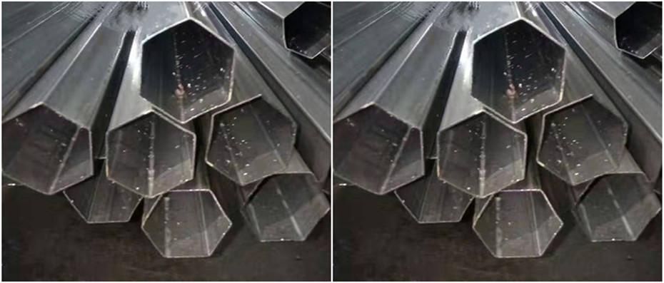 304不锈钢六角异型管