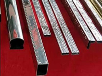 304不锈钢装饰花纹管