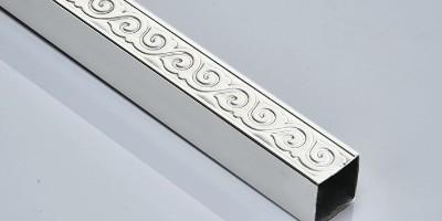 如何正确选择新型欧式不锈钢花纹管?