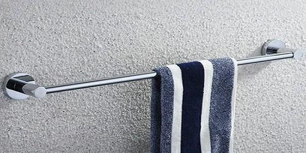 不锈钢卫浴管毛巾架安在哪里最方便?