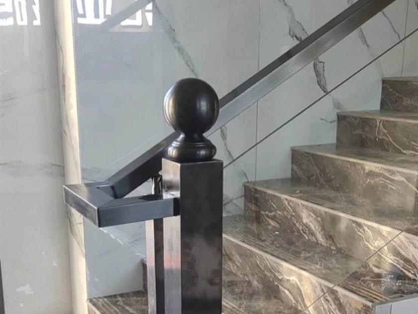 不锈钢拉丝管玻璃护栏